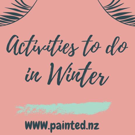Activities to do in Winter