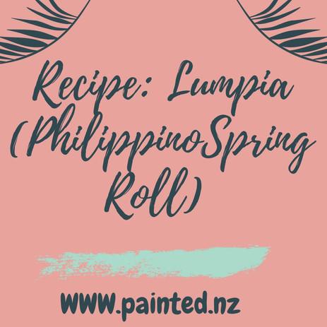 Recipe: Lumpia (Philippino Spring Roll)