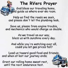 11 RV Commandments & Prayer
