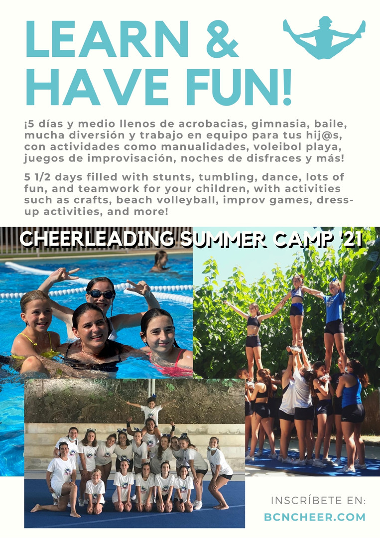 BCN Cheer Camp 2021 Info Cover