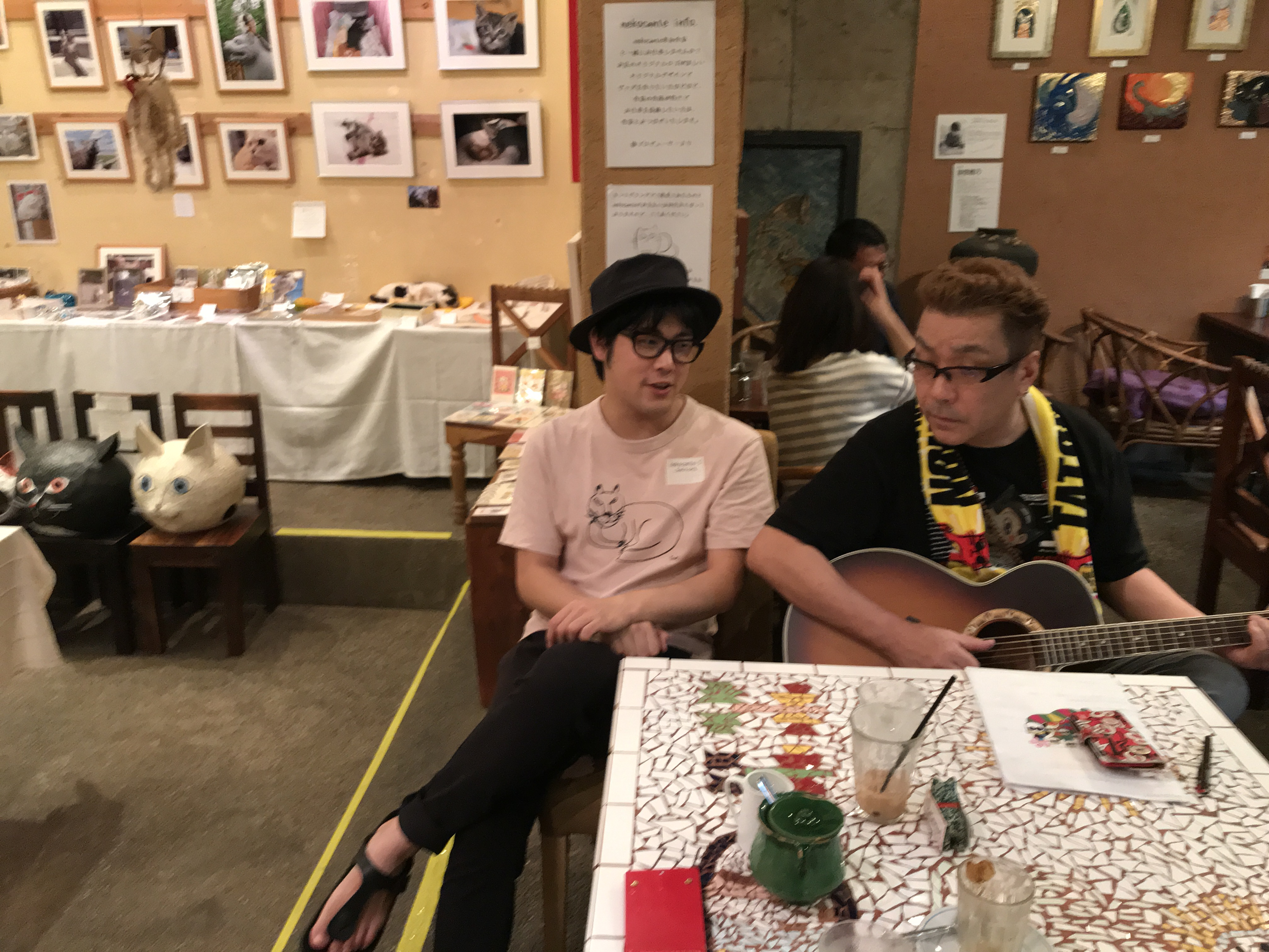 嘉門タツオさんとJUNICHI