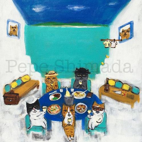 Cats' Long Vacation