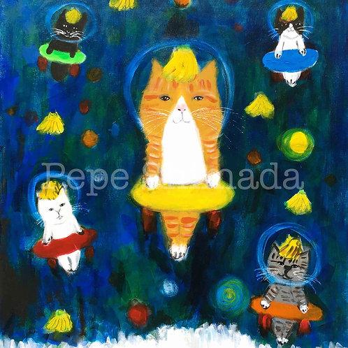 Cosmic Banana Cats