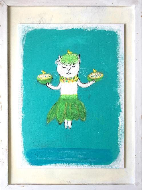 Hula Cat (*2)