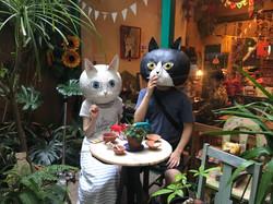 シアワセ猫カップル