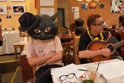 画家猫とミュージシャン