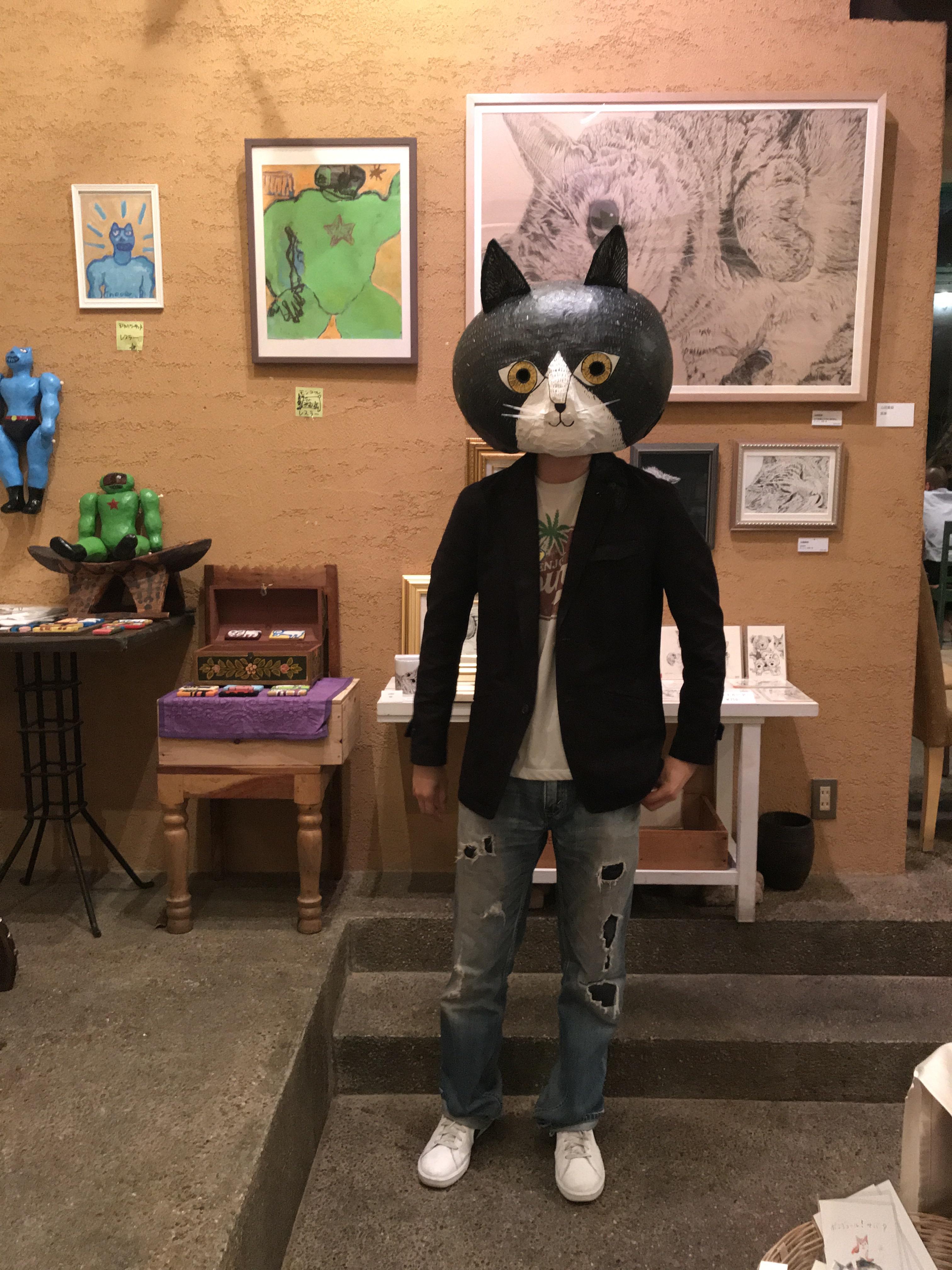 画家猫の山田くん