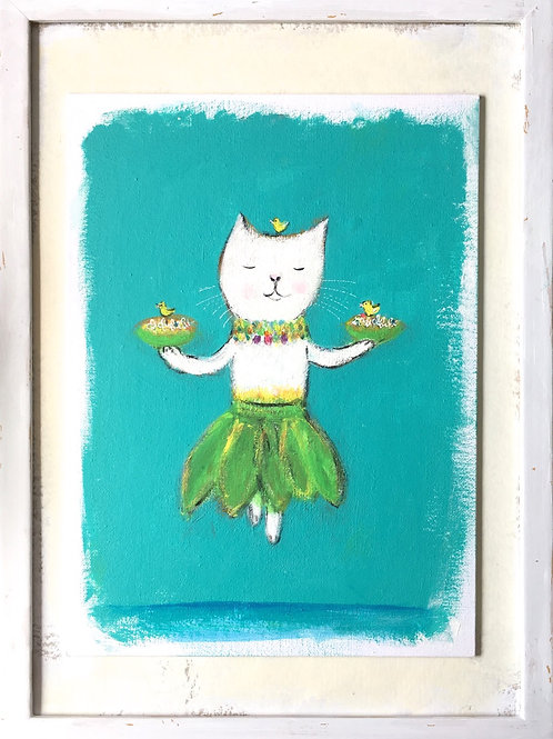 Hula Cat (*3)