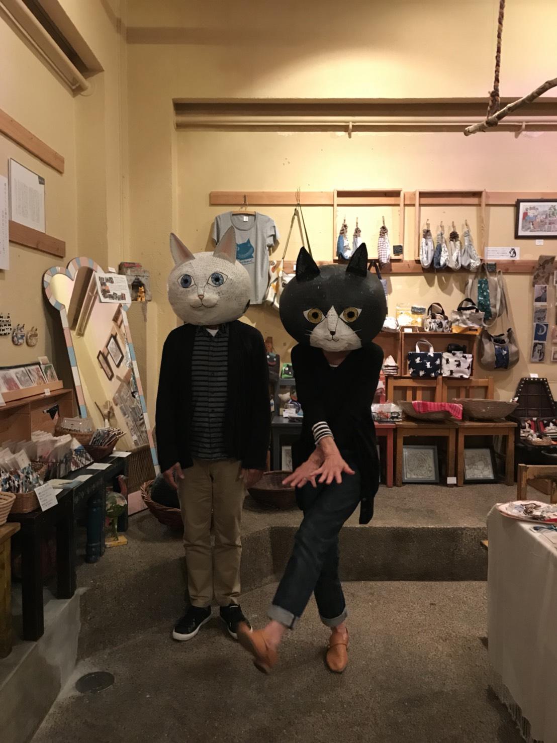 仲良し猫夫婦