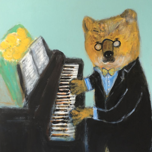"""Bear Pianist"""