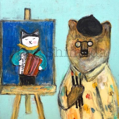 """Bear Painter"""
