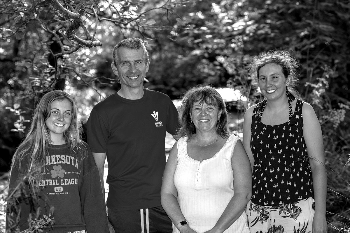 Black & White family photography Lancs