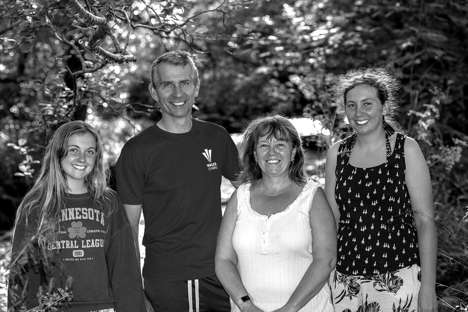 Black & White family photography Lancs