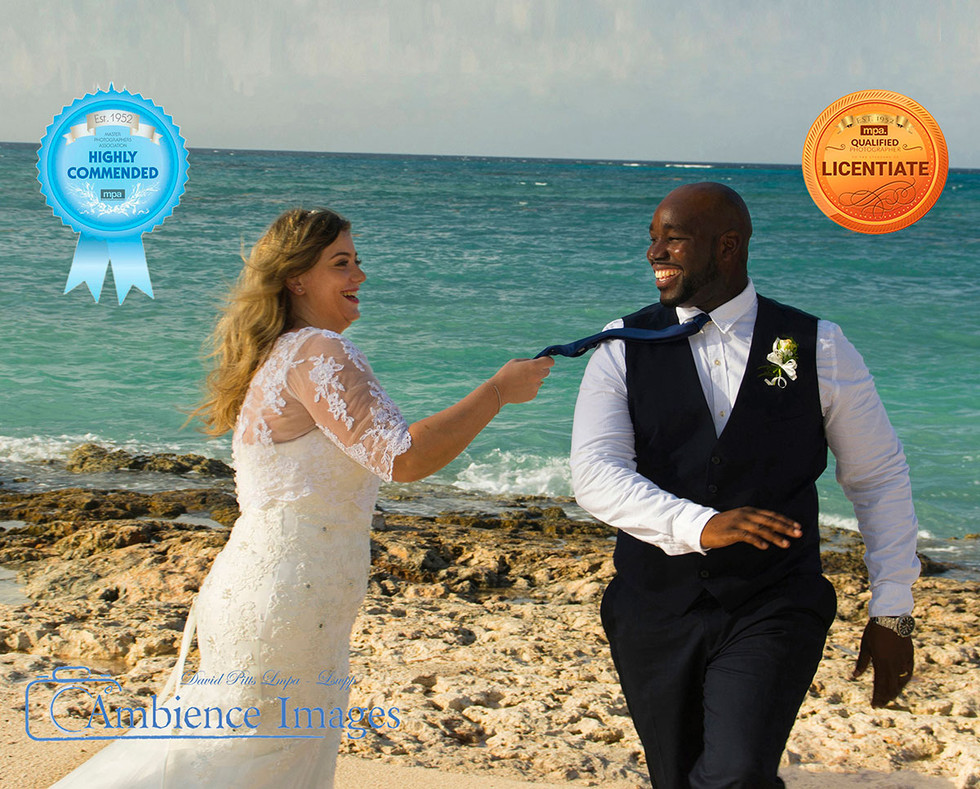 Wedding Abroad Ambience Images wedding photography Bride & Groom on beach