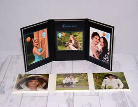 lifestyle folio with three photos