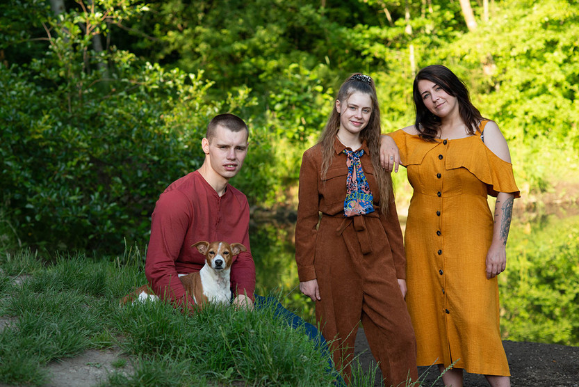 family photography outdoors lancashire Ambience Images