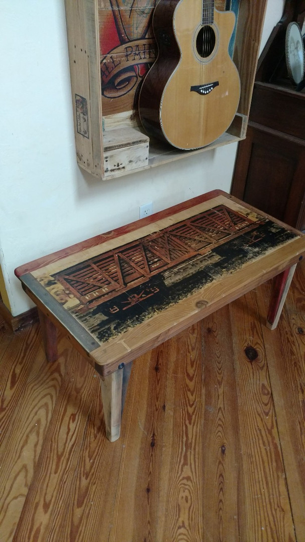 Cattle Car Coffee Table 40x22x17. Free Shipping to the lower 48.