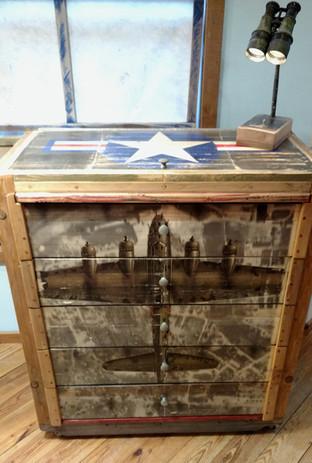 B-17 Dresser 45x41x21 $590