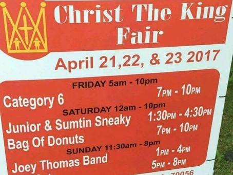 Christ the King Fair Terrytown Louisiana