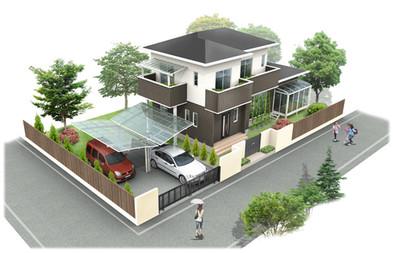 住宅製作例
