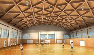 スポーツ施設製作例