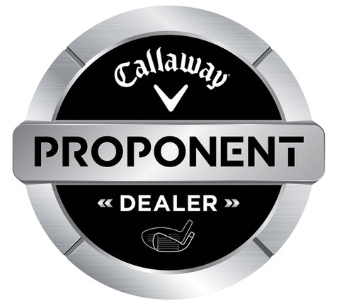 We are now a certified Callaway Proponent Dealer!