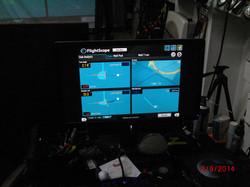 Flightscope Screen