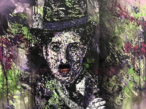 Charlie   Acryl, Öl auf Leinwand   80 x 60 cm