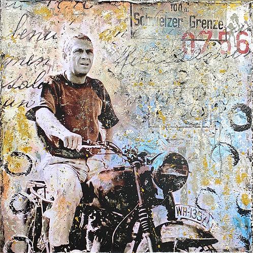 The Great Escape    Pop-Art-Acryl-Mischtechnik auf Leinwand   90 x 90 cm