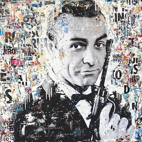 Seven Seven Zero | Pop-Art- / Collagen-Acryl-Technik auf Leinwand | 100 x 100 cm