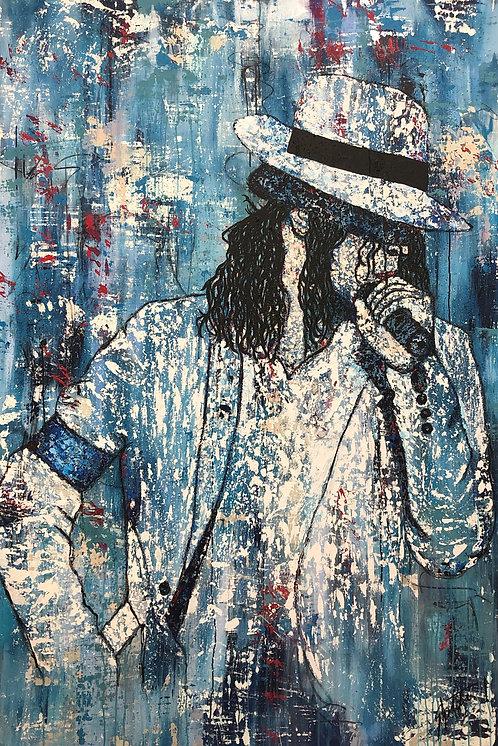 King of Pop | Acryl, Öl auf Leinwand | 120 x 180 cm