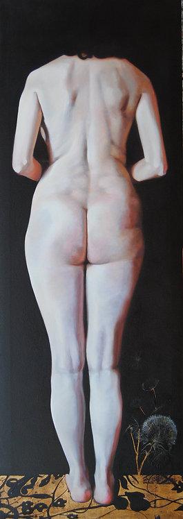 Horizontes |  Oil on canvas | 170 x 60 cm