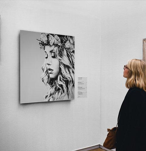 I'm not romantic | Öl auf Leinwand | 100 x 100 cm