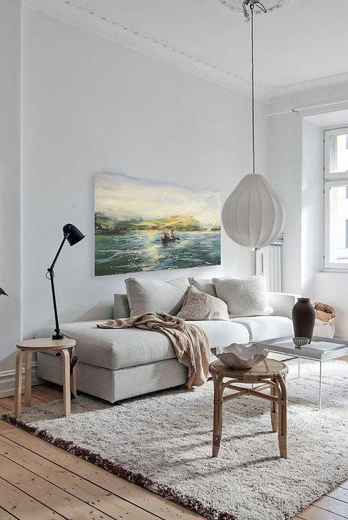 Donauauen   Öl auf Leinwand   90 x 120 cm