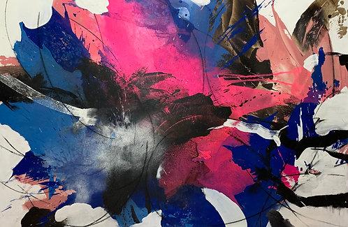 Aundy |  Mixed Media | 120 x 180 cm