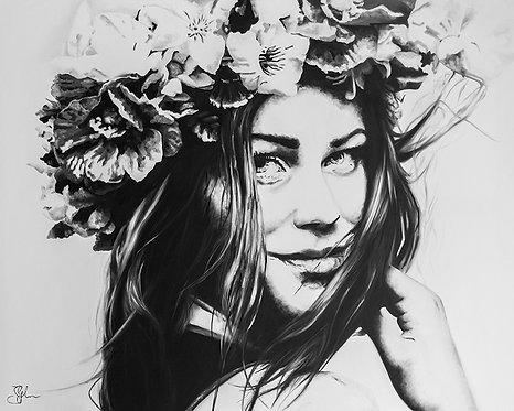 Summer Goddess | Öl auf Leinwand | 100 x 80 cm