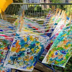 Paintings on the Line