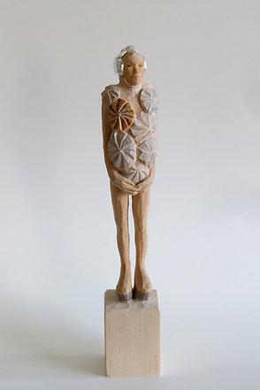 A04 |  Pinienholz, Bleistift, Kompositionssilber | 25,5cm, 4cm x  4cm