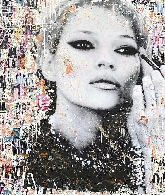 Girls Night Out | Pop-Art- / Collagen-Acryl-Technik auf Leinwand | 100 x 100 cm