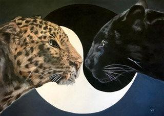 Yin und Yang |  Öl auf Leinwand | 100 x 140 cm