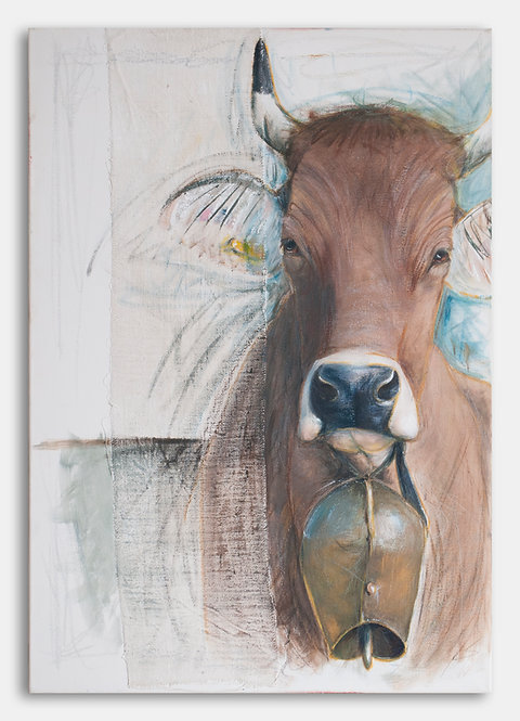 Glockenglanz | Le Corbusier-Acryl/Mischtechnik | 100 x 70 cm