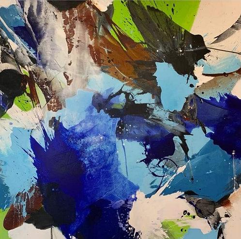 Suvi |  Mixmedia | 150 x 150 cm