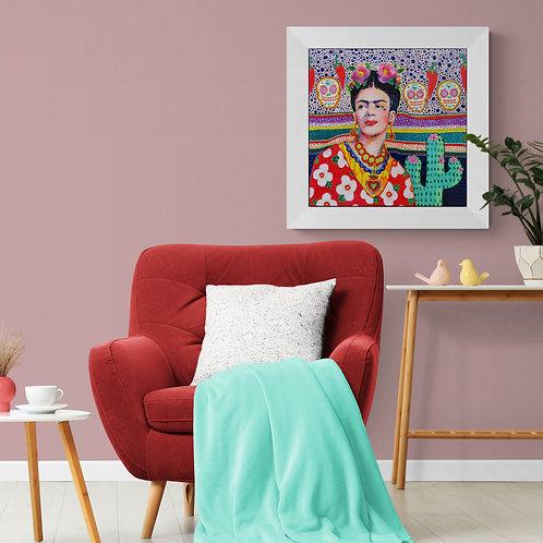 La Ilorana | Acrylic Paint on Wooden Canvas | 50 x 50 cm