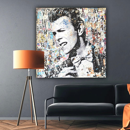 The One and Only | Pop-Art- / Collagen-Acryl-Technik auf Leinwand | 100 x 100 cm