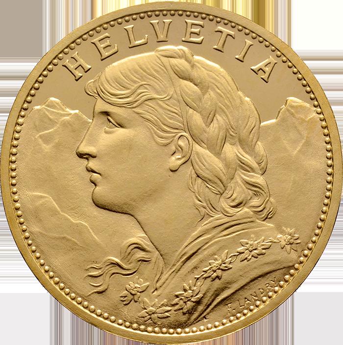 20 Franken Gold 1897