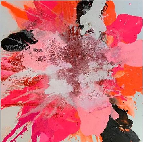Soley |  Mixmedia | 130 x 130 cm