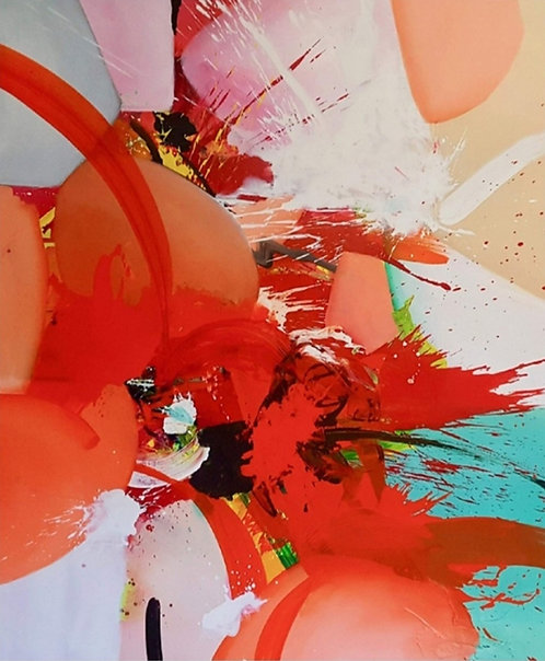 Blodwynn |  Acryl on Canvas | 200 x 170 cm
