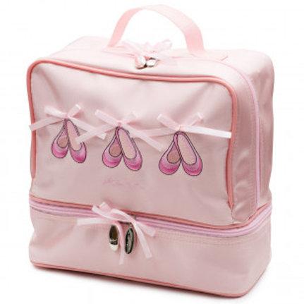 Satin 3 shoes ballet bag