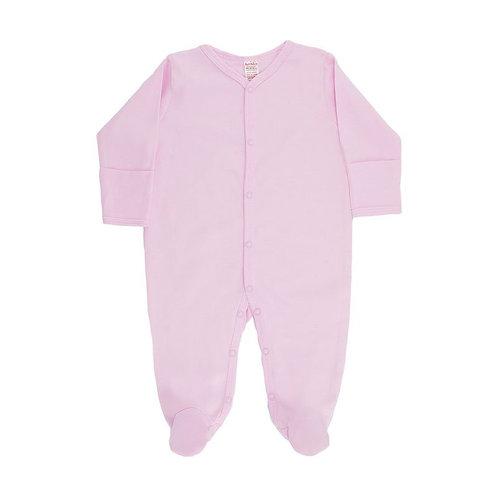 Cotton Sleepsuit Pink