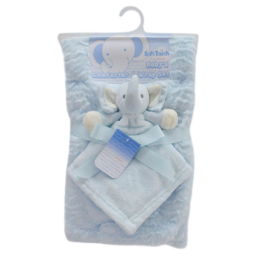 Layered Wrap and Elephant Comforter